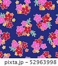 植物 花 ハイビスカスのイラスト 52963998