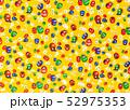 和紙、和柄、背景素材、壁紙、だるま、黄色 52975353