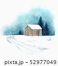 景色 風景 ウィンターのイラスト 52977049