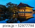 gyeonghoeru pavilion at night 52977798