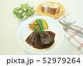 牛ほほ肉の赤ワイン煮 52979264