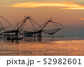 Large fish traps used for fishing 52982601