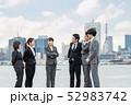ビジネス グループ ビジネスマンの写真 52983742