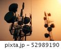 5G Telecommunication Tower in Sunset Sunrise 3D Il 52989190