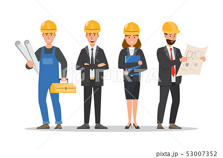 architect, foreman, engineering construction 53007352