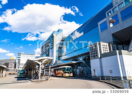 《京都府》京都駅前・都市風景 53009056