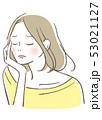 悩む女性 53021127
