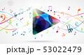 ミュージック 譜面 音楽のイラスト 53022479