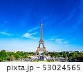 パリ エッフェル塔 タワーの写真 53024565
