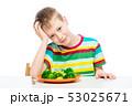 ブロッコリー 食 料理の写真 53025671