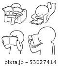 ブック 書籍 本のイラスト 53027414