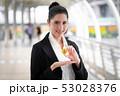 ビットコイン ビジネスマン ビジネスの写真 53028376