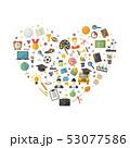 概念 教育 アイコンのイラスト 53077586