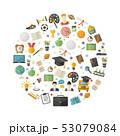概念 教育 アイコンのイラスト 53079084