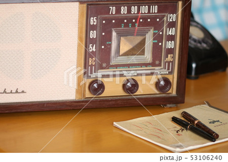 アンティークラジオ 53106240