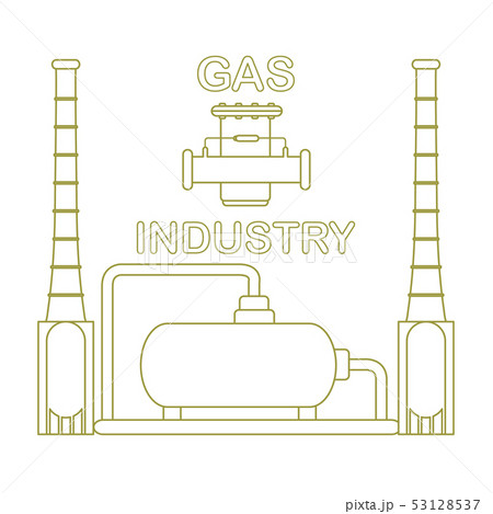 Gas processing plant Gas filter. 53128537