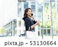 女性 ビジネスウーマン スマホの写真 53130664