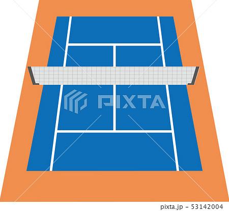 テニスコート 53142004