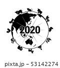 干支と地球 53142274