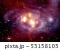 バックグラウンド 宇宙 ぎんがのイラスト 53158103