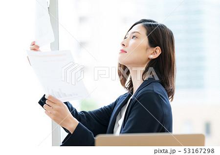 ビジネスシーン 女性 53167298