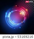 Creative Vector Illustration of Futuristic Light Effect. 53169216