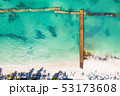浜辺 バース 鳥の写真 53173608