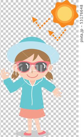 UV protection girl 53176648