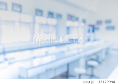blur image of old laboratory for pharmacy  53179998