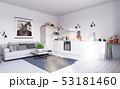 空間 部屋 キッチンのイラスト 53181460