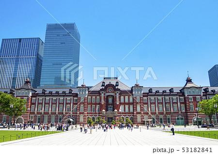 【東京都】東京駅 駅前風景 53182841
