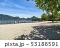 大久野島 うさぎ島 風景の写真 53186591