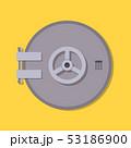 Bank vault safe door 53186900