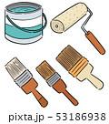 手描き 手描きの バケツのイラスト 53186938