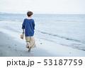 女性 海 旅行の写真 53187759