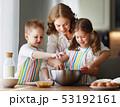家族 食 料理の写真 53192161