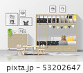 Interior background of modern kids bedroom 53202647