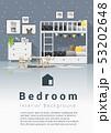Interior background of modern kids bedroom 53202648