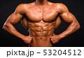 マッスル 筋肉 男の写真 53204512