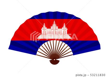 カンボジア  国旗 象徴 アイコン  53211830