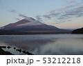 朝焼けの富士山 53212218