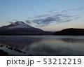 朝焼けの富士山 53212219