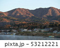 朝焼けの山中湖畔 53212221