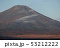 朝焼けの富士山 53212222