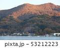 朝焼けの山中湖畔 53212223