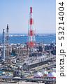 三重県 四日市 石油化学コンビナート 工場風景  俯瞰 53214004