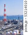 三重県 四日市 石油化学コンビナート 工場風景  俯瞰 53214010