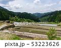 四谷千枚田 棚田 水田の写真 53223626