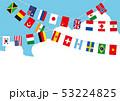 青空の世界国旗 53224825