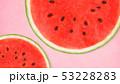 背景-夏-スイカ-ピンク 53228283